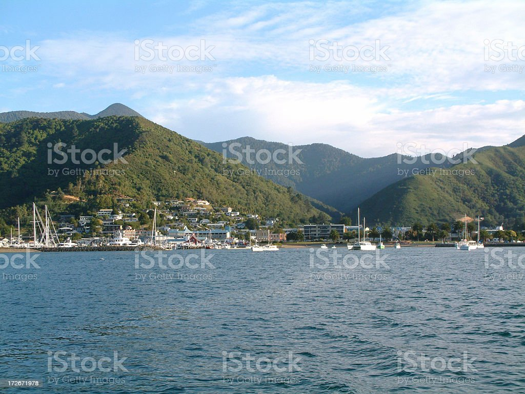 Picton Habour stock photo