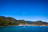 Picton on Queen Charlotte Sound of Cook Strait, New Zealand