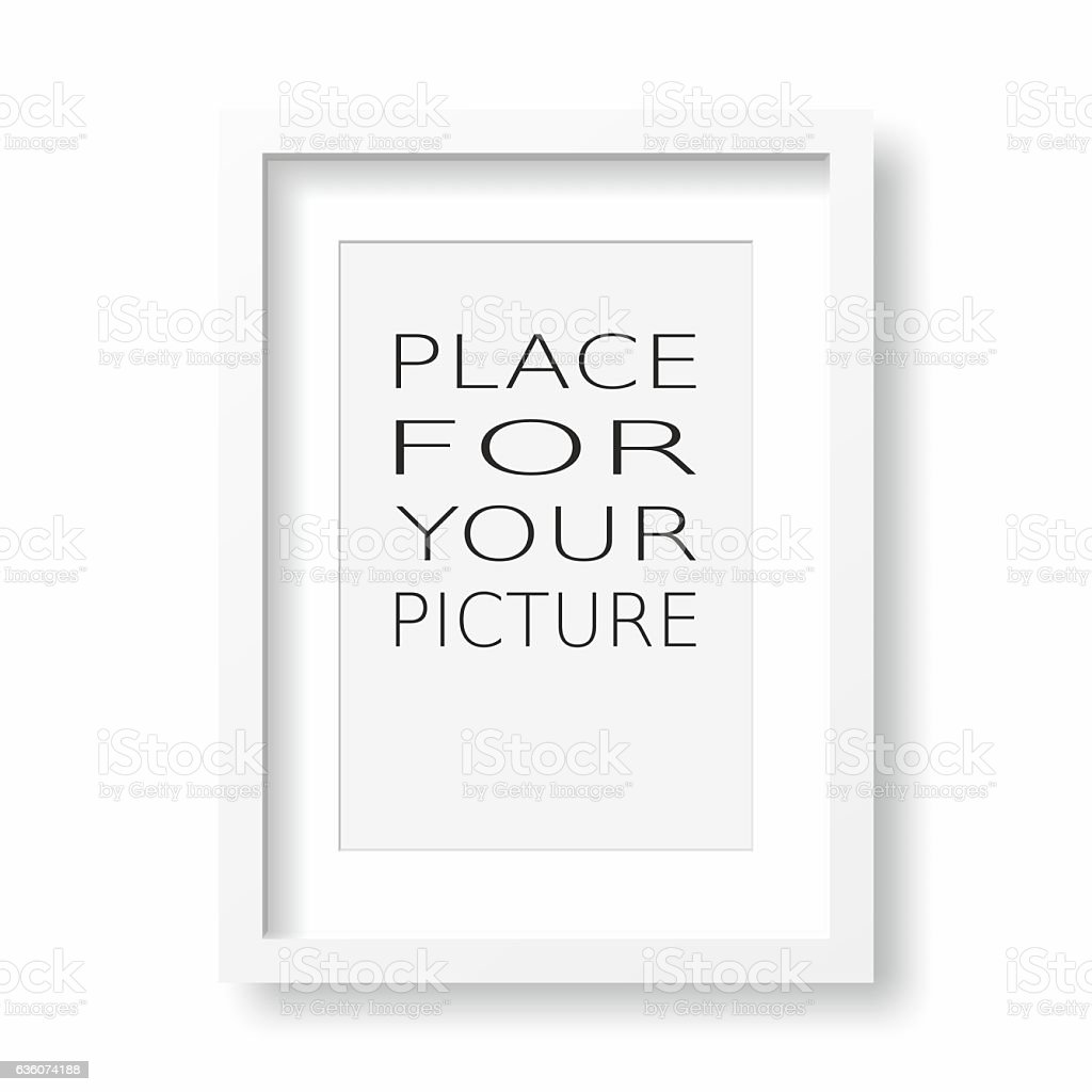 Pictore frame stock photo