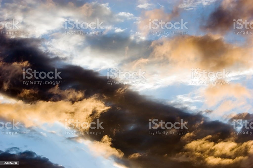 Pictural Clouds royalty-free stock photo