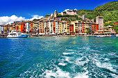 pictorial Liguria - Portovenere, Cinque terre, Italy