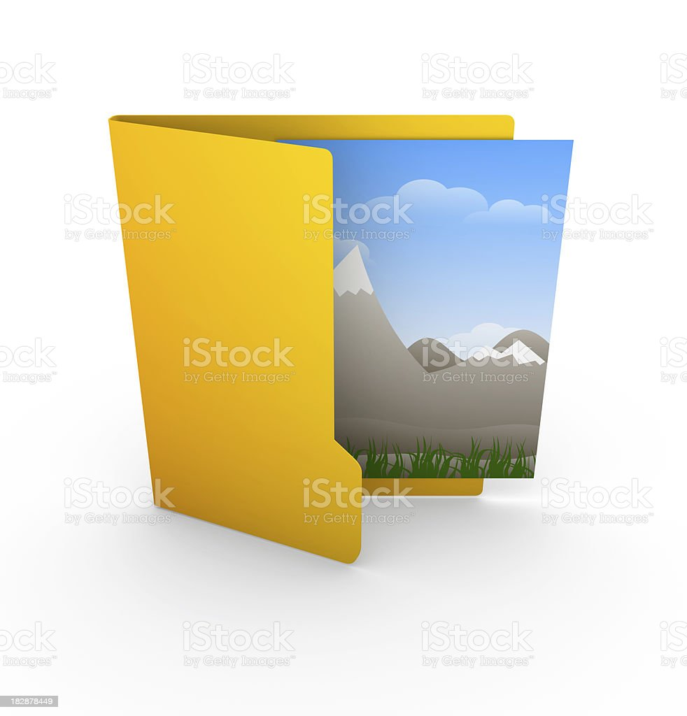 Picture File royalty-free stock photo
