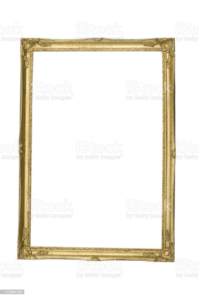 Picture Frame Clipping Path royalty-free stock photo