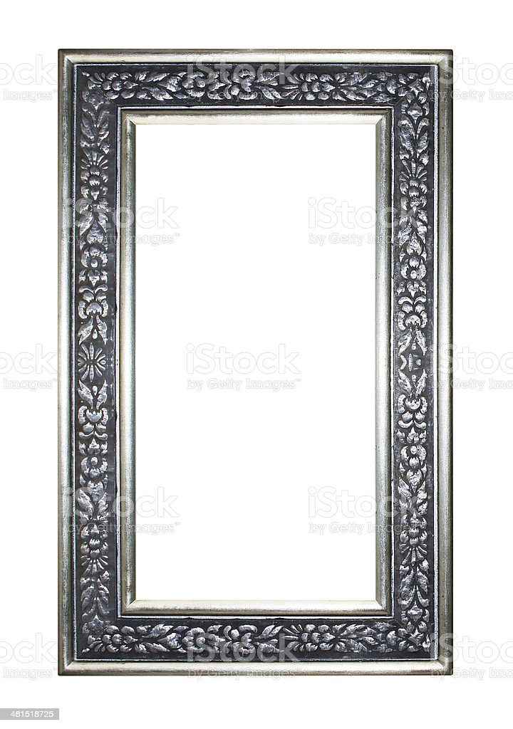 picture frame isolated on white background royalty-free stock photo