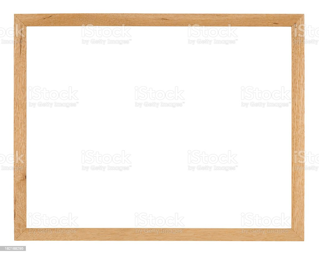 Picture frame isolated on white royalty-free stock photo