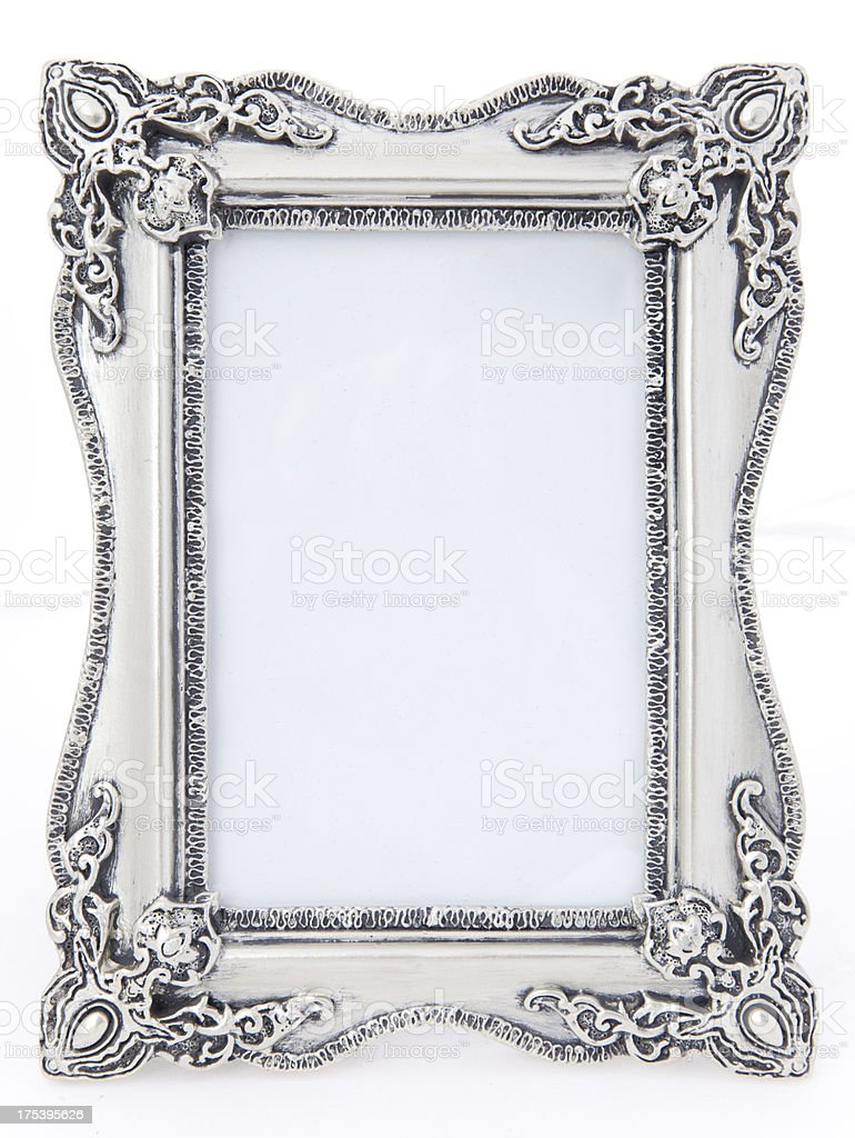 Picture Frame Isolated royalty-free stock photo
