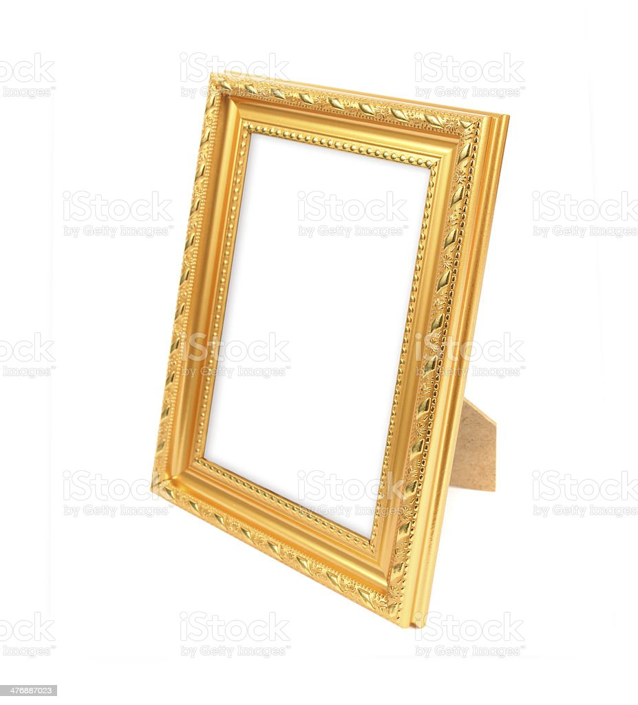 picture frame on the white background royalty-free stock photo