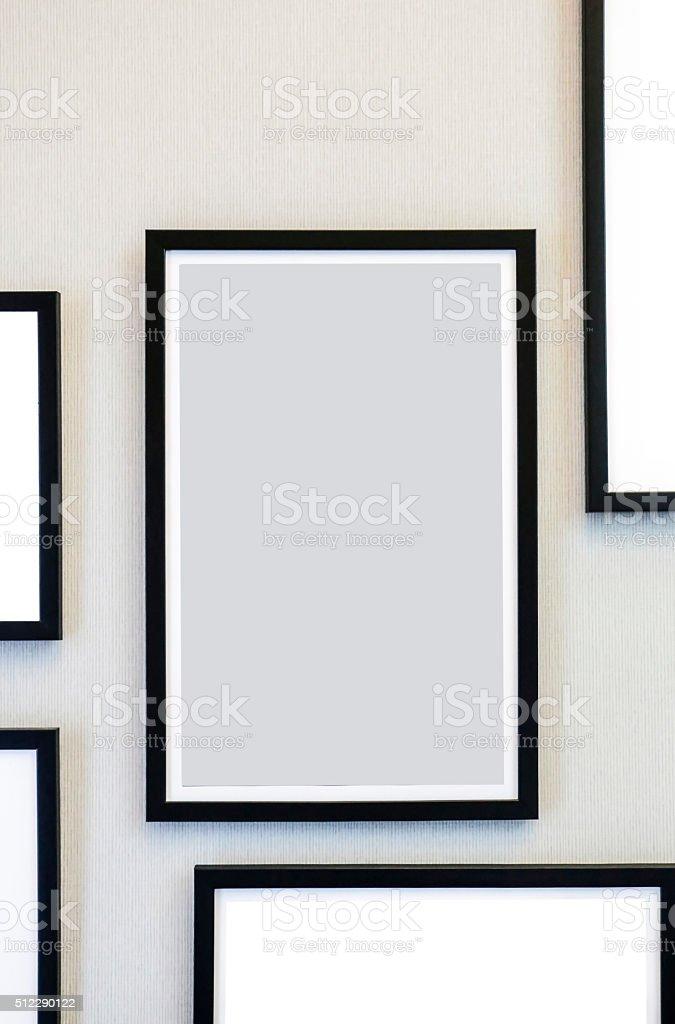 CUADRO marco foto de stock libre de derechos