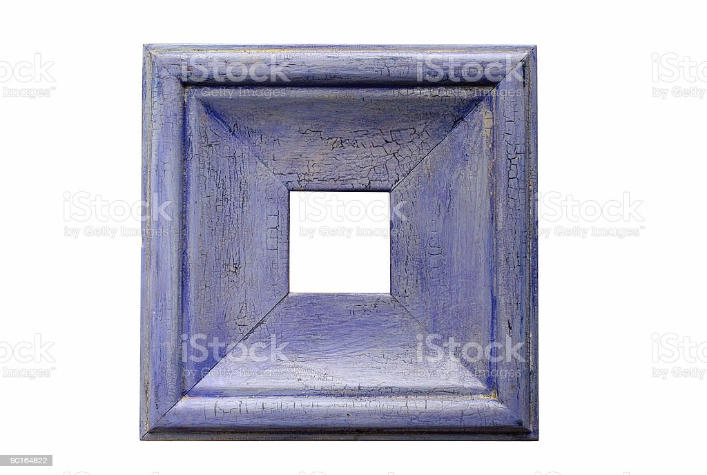 Picture Frame; Violet royalty-free stock photo
