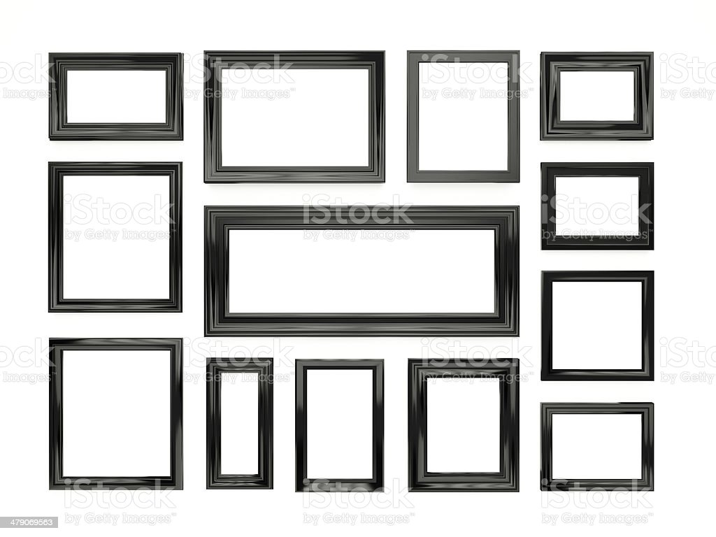 picture frames. stock photo