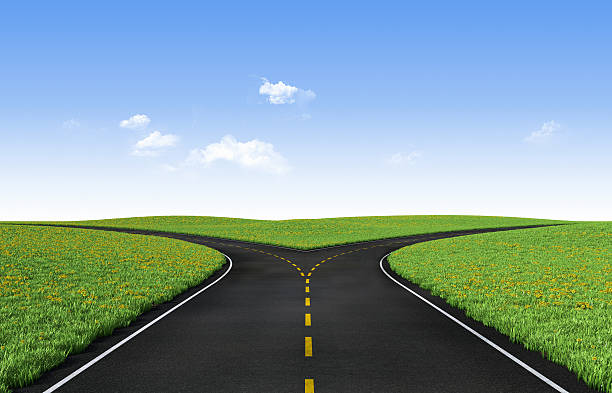 Fork In The Road Pictures Images and Stock Photos iStock