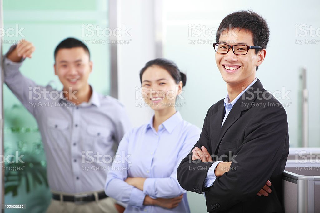 picture of asian business team royalty-free stock photo