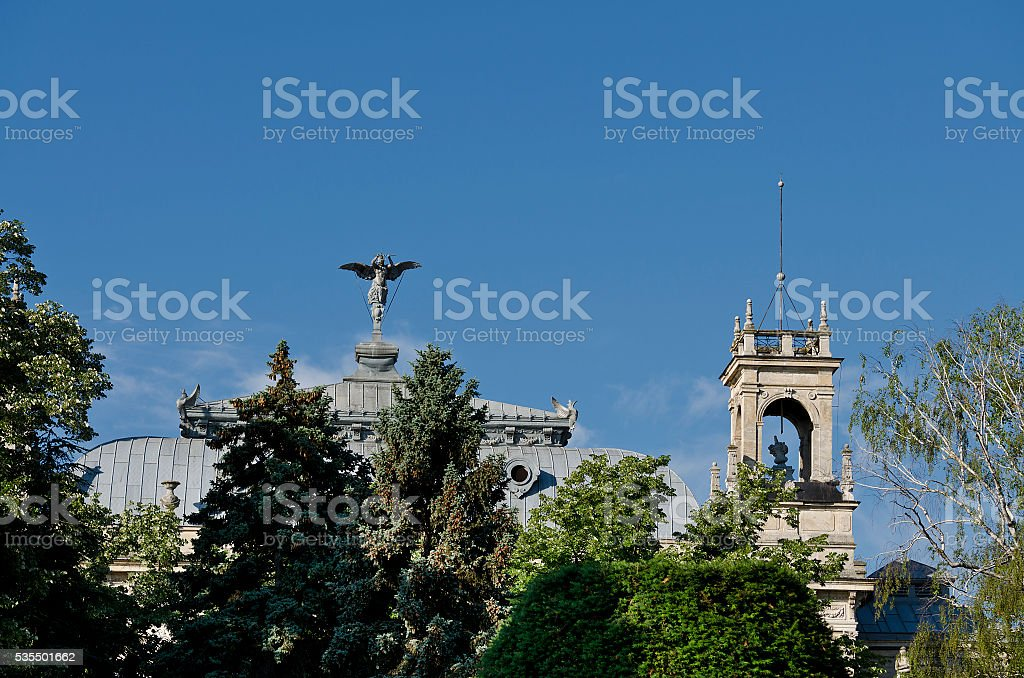 Picture of city center of Ruse - Bulgaria stock photo