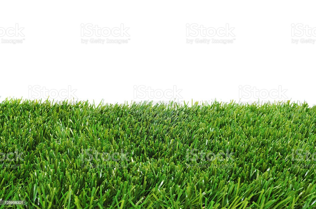 Green Grass On White Background Stock Photo, Picture And Royalty ...