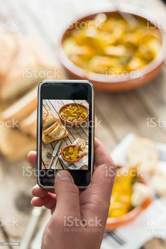 Picture of lunch stock photo