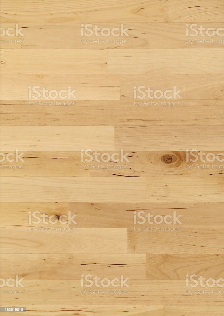 Picture of maple wood butcher block royalty-free stock photo