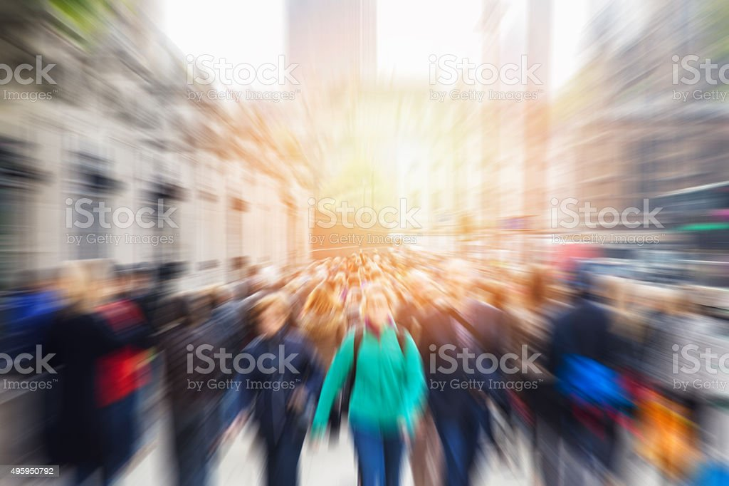 picture of moving people stock photo