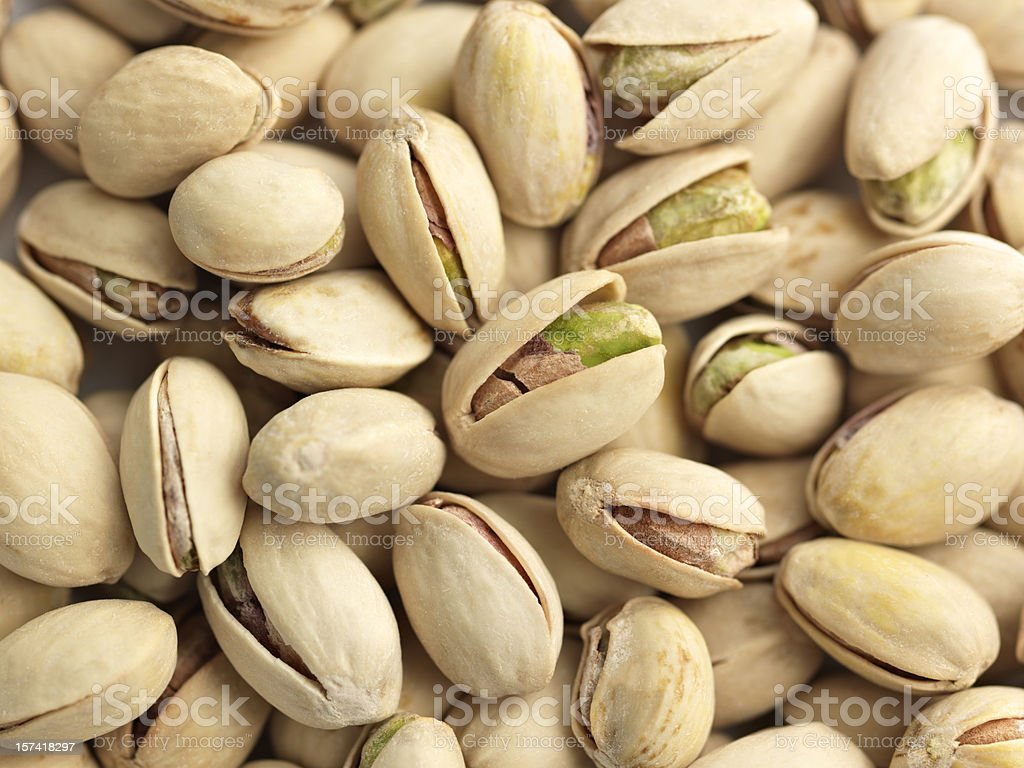 A picture of pistachio nuts ready to eat  stock photo