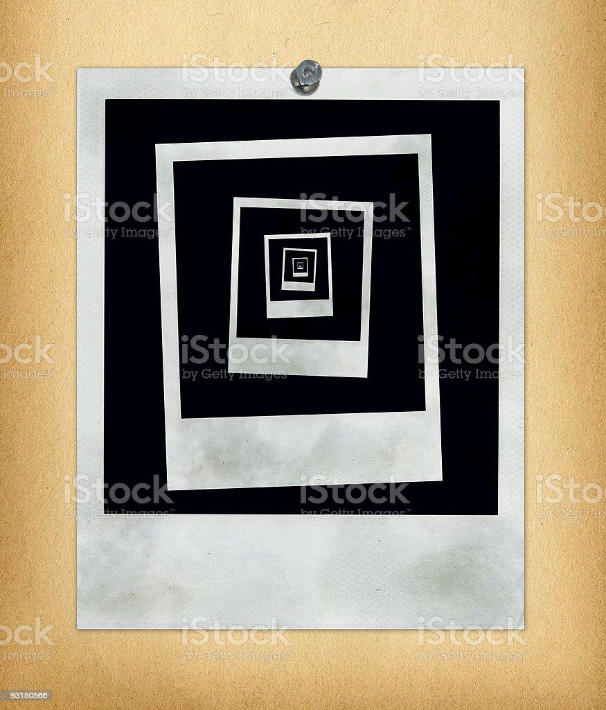 Picture of Polaroids stock photo