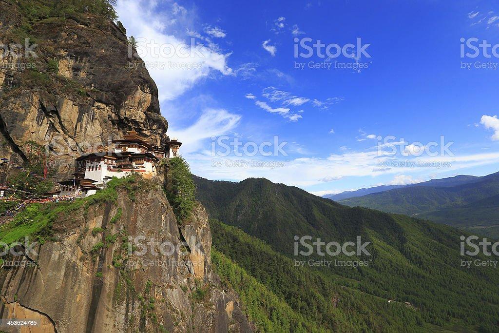 Picture of TakTsang Monastery (Tigers Nest) in Paro, Bhutan stock photo