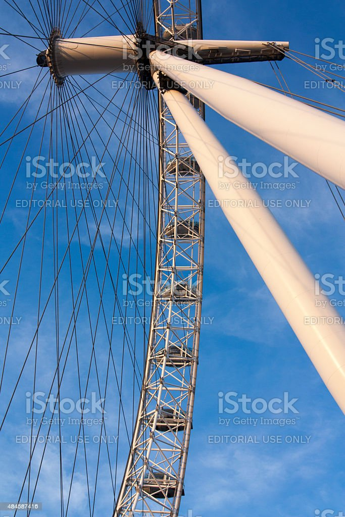 Picture of the London Eye royalty-free stock photo