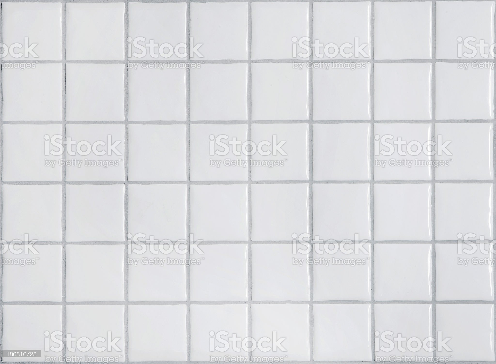 Picture of white tiles in the bathroom royalty-free stock photo