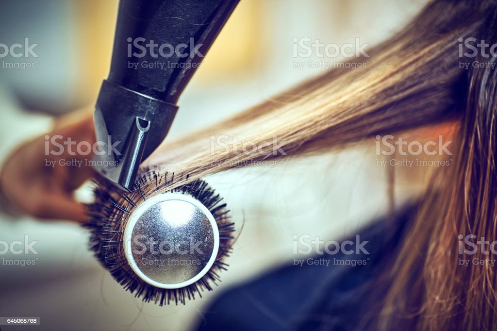 Picture of working day inside the beauty stock photo