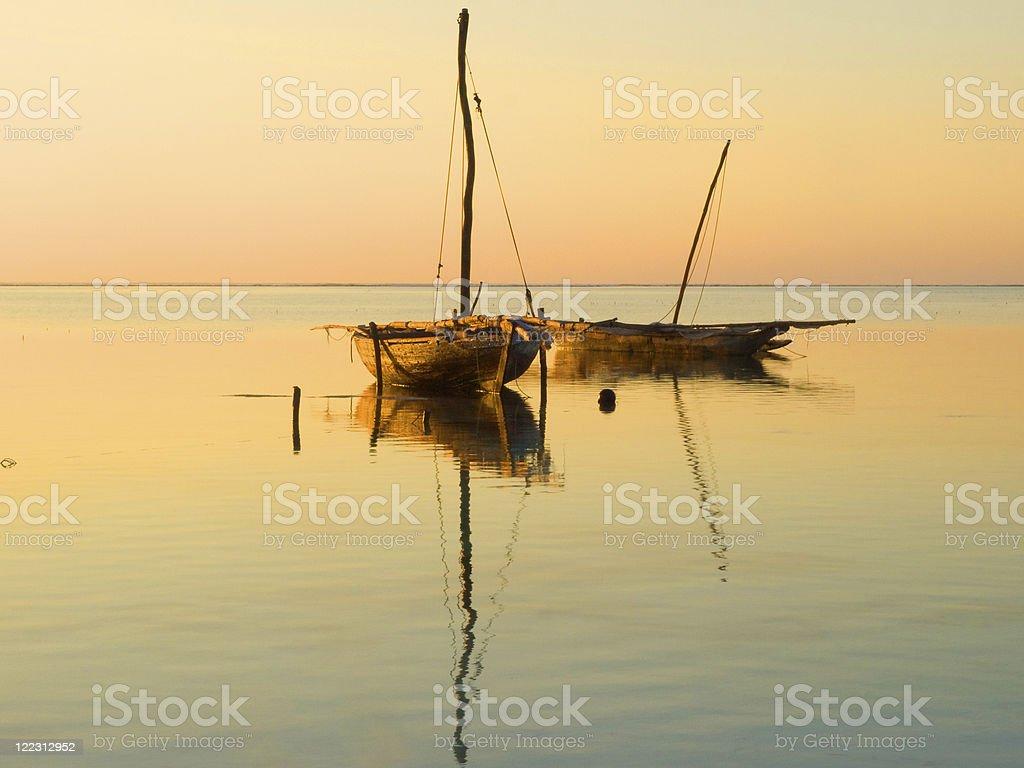 Picture of Zanzibar at sunrise stock photo