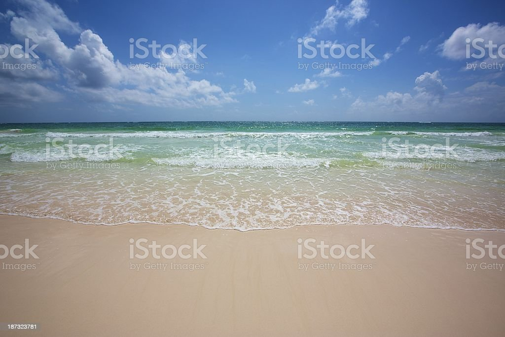 Picture Perfect Caribbean Beach royalty-free stock photo