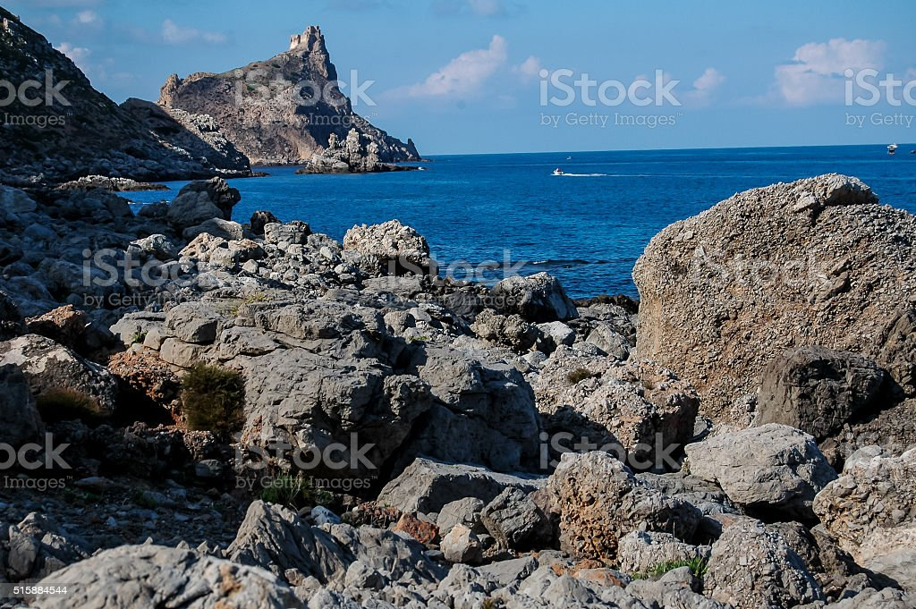Picture View of Egadi Island stock photo