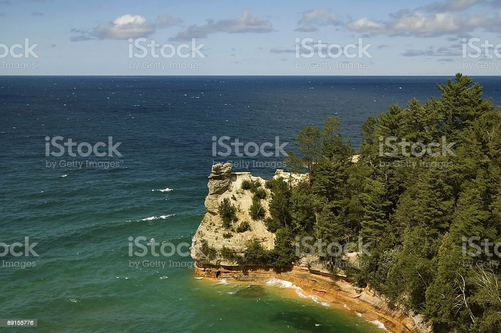 Pictured Rocks royalty-free stock photo
