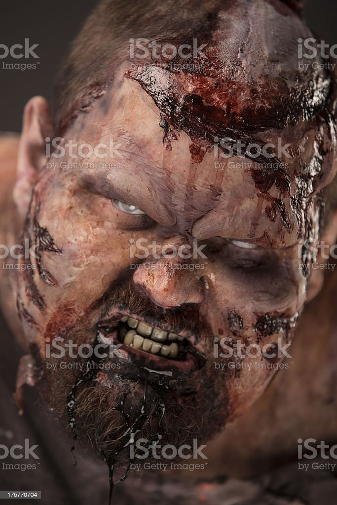Pictures of Real Classic Zombie stock photo