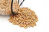 Pictures of the most beautiful and new dry chickpeas