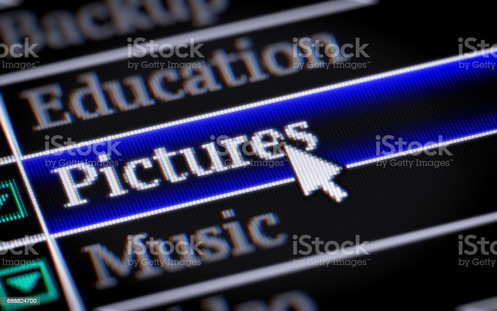Pictures stock photo