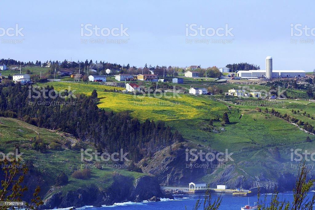 Picturesque Avalon community stock photo