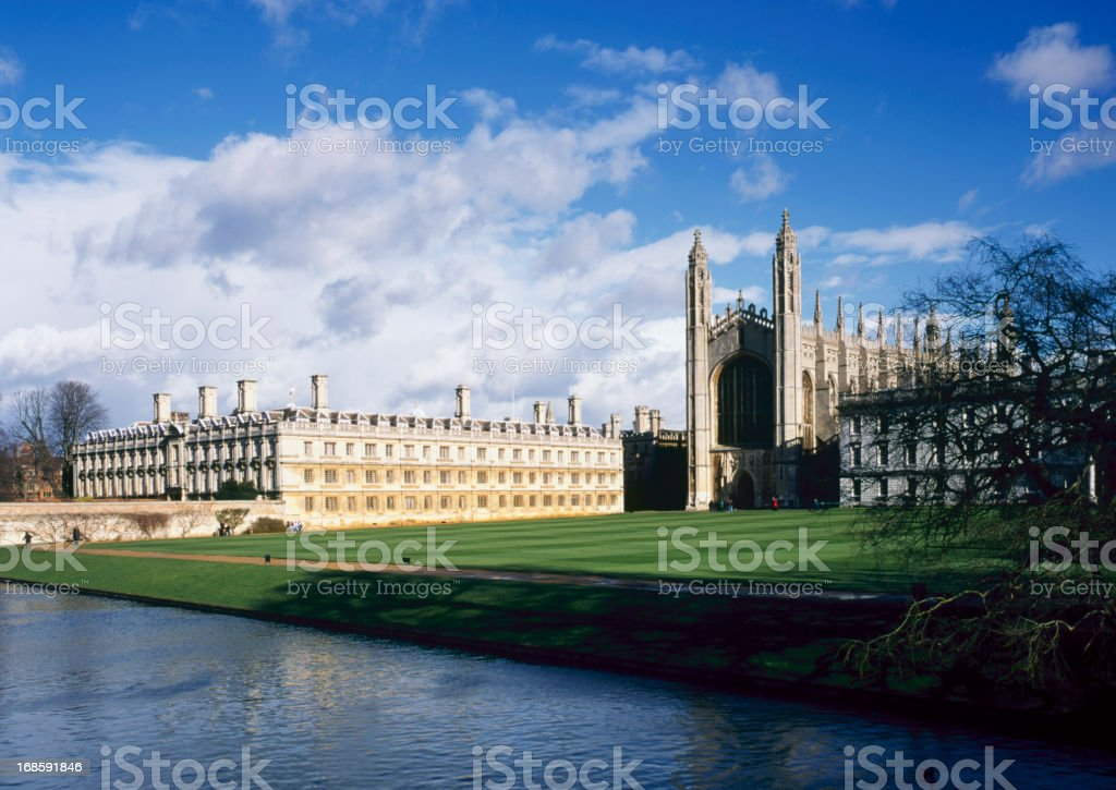 Picturesque Cambridge stock photo
