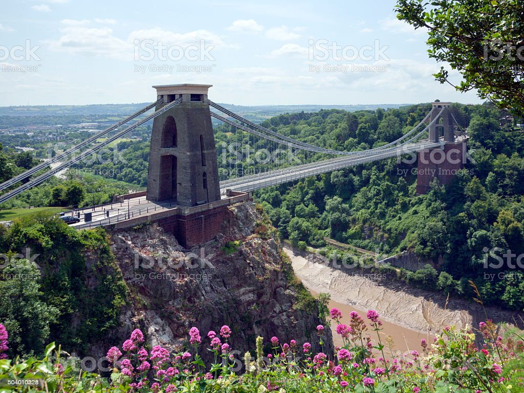 Picturesque City of Bristol stock photo