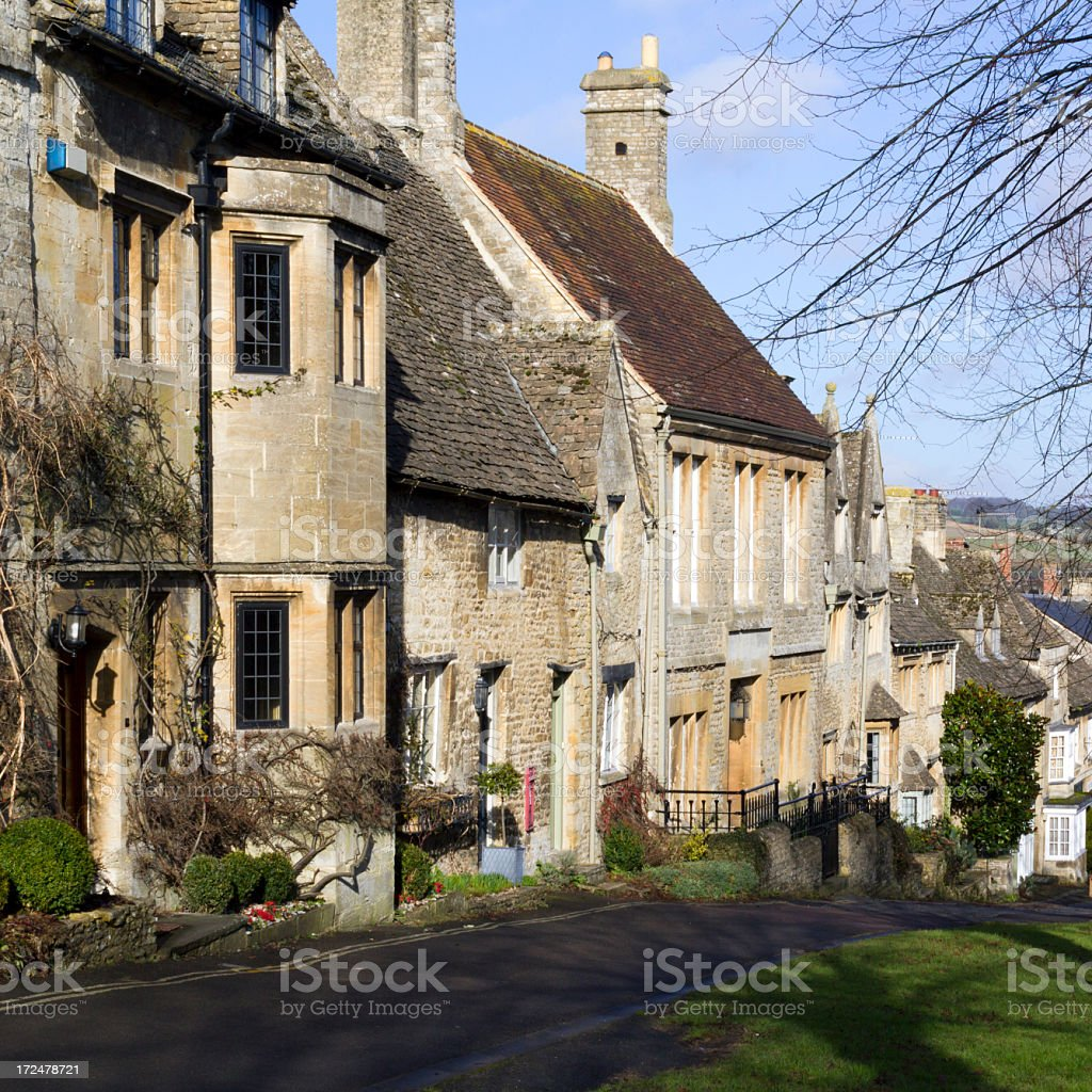 Picturesque Cotswolds - Burford royalty-free stock photo