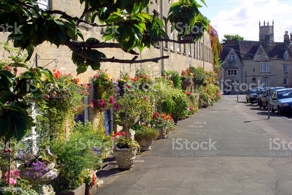Picturesque Cotswolds - Cirencester stock photo