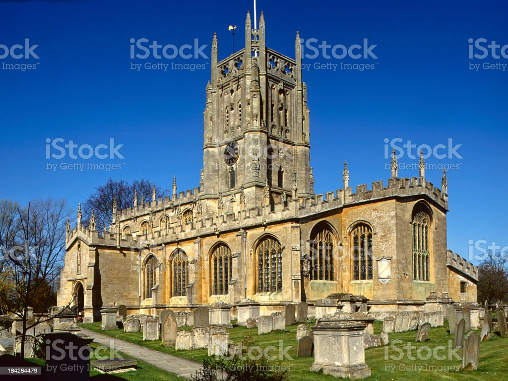 Picturesque Cotswolds - Fairford stock photo