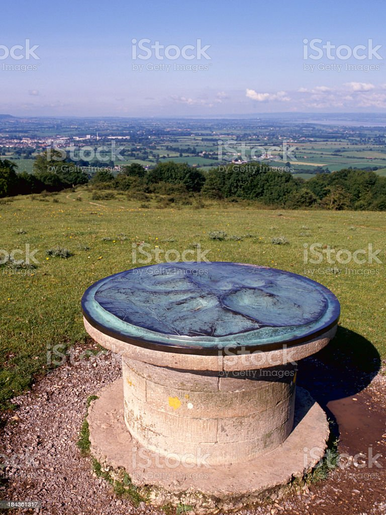 Picturesque Cotswolds - Severn Vale stock photo