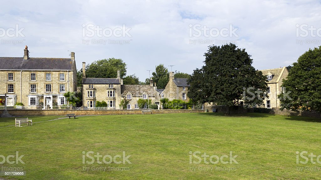 Picturesque Cotswolds, Shipton-under-Wychwood stock photo