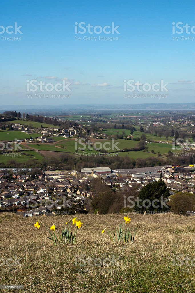 Picturesque Cotswolds - Stroud Valleys royalty-free stock photo