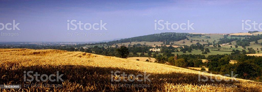 Picturesque Cotswolds - Sudeley Castle stock photo