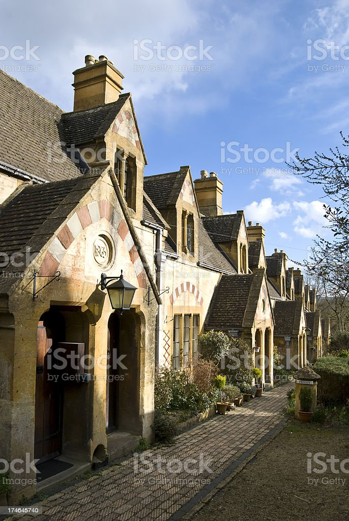 Picturesque Cottages stock photo