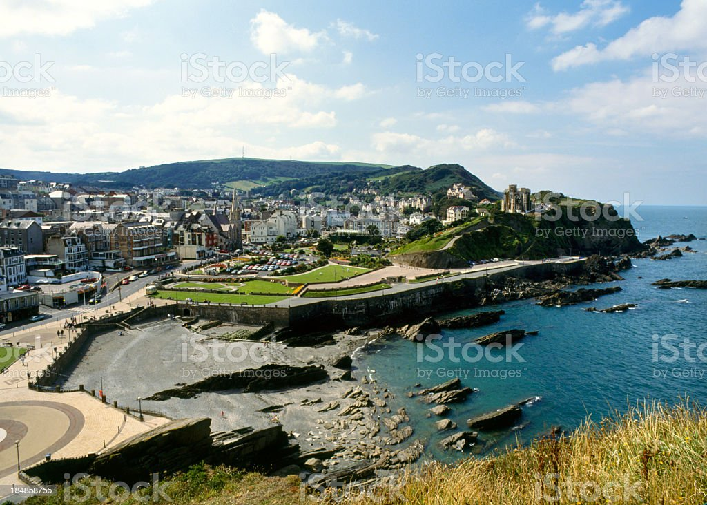 Picturesque Devon - Ilfracombe stock photo