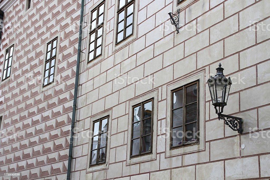 picturesque facade royalty-free stock photo