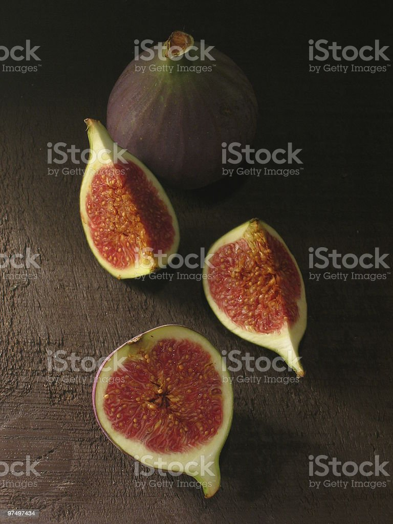 picturesque figs stock photo