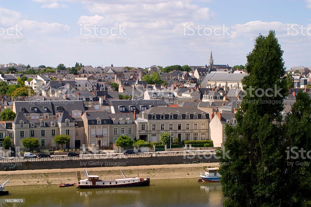 Picturesque France - Angers stock photo