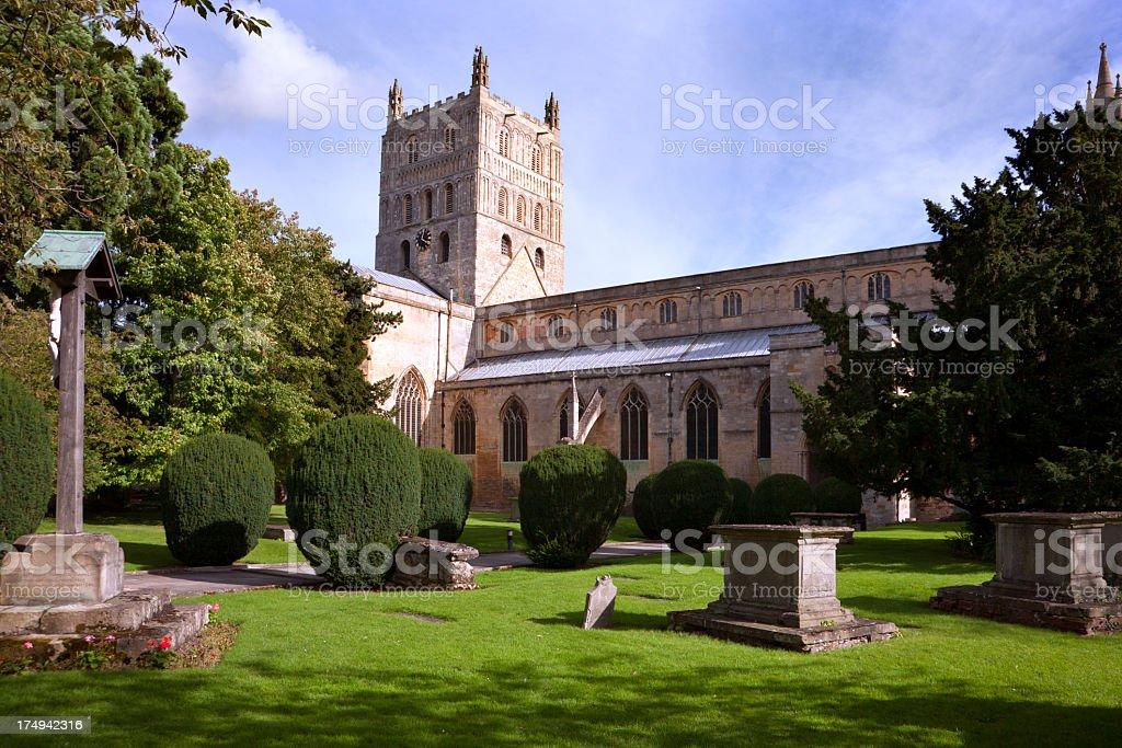 Picturesque Gloucestershire - Tewkesbury stock photo